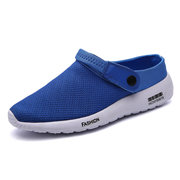 Big Size Breathable Toe Protecting Slip On Flat Casual Sport Sandals For Men