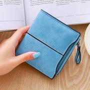 Portamonete donna Bifold Short Concise Wallet 5 Card