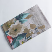 Womens Ethnic Style Ink Printing Cotton Linen Blend Long Scarf Casual Travel Warm Scarves Shawl