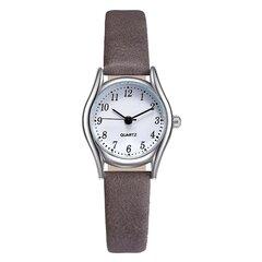 Mode montre à quartz cadran petit cadran rond montre de cuir multichoice bijoux occasionnels pour les femmes