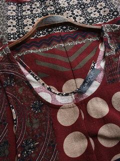 Damen Ethnische Polka Dot Print Insgesamt Vintage Harem Strampler