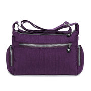 Casual Waterproof Nylon Lightweight Shoulder Bags Crossbody Bags For Women
