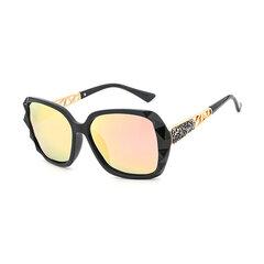Женская большая смола Объектив Поляризационные УФ-стойкие солнцезащитные очки высокого разрешения