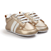 Romirus Moccasins Anti-slip PU Leather First Walker Soft Soled Sneaker For 0-24M