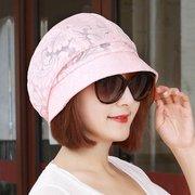 المرأة القطن البوليستر قبعة رواج خمر البرية في الهواء الطلق السفر المنزل عارضة قبعة الشمس