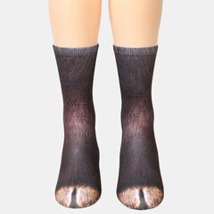 Unisex Adulto Animal Impreso calcetines Tubo Animal calcetines 3d Estampado de Pata de Animal calcetines