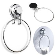 No-Drilling Suction Cup Towel Ring Holder Bathroom Kitchen Accessory
