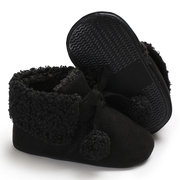 Ball Decor Baby Boots Soft Flats First Walker For 0-2 Years