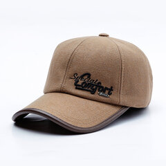 Mens Wild Adjustable Simple Style Protect Ear Warm Windproof Baseball Cap Outdoor Sports Hat