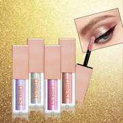 15 Colors Diamond Pearlescent Liquid Eyeshadow Shine Colorful Eyeshadow Liquid High Light Eye Makeup