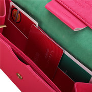 Women Candy Color Multifunction Long Wallet