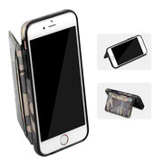 Pour iphone6 / 6s / 7 Anti-jeter Camouflage Stent Card Holster Coin Sac Téléphone Sac