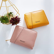 Faux Leather Multi-slot Card Holder Coin Purse For Women