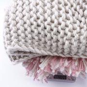Bufandas hechas punto muchachas lindas formadas animal con los bolsillos Diseño para 3Y-8Y