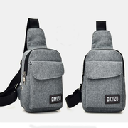 Fashion Travel Canvas Chest Package Men Women Bags Backpack Laptop Bag