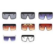 Men Woman Multi-colored Large Square Sunglasses Anti-UV Sunglasses