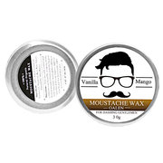 Mustache Wax Creme hidratante para barba Natural Condicionador para o design do cuidado de barbear