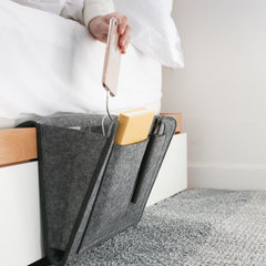 Felt Bedside Storage Bag Remote Control Hanging Bag Sundries Bag