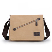 Men Canvas Business Casual Outdoor Crossbody Bag