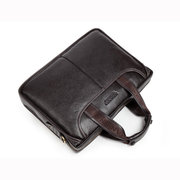 BOSTANTEN Men vendimia Bolso Casual Piel Genuina Negocio Crossbody Bolsa