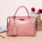 Women Vintage Bucket Bag PU Leather Large Capacity Shoulder Bag Crossbody Bags