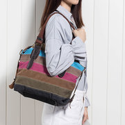 Women Canvas Bag Crossbody Bag Shoulder Bag Casual Shopping Bag