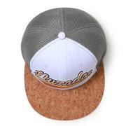 NUZADA para hombre de algodón bordado de malla transpirable Sombrero a prueba de viento al aire libre gorra de béisbol salvaje ocasional