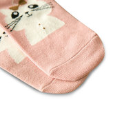 Women Cute Cotton Cartoon Socks Candy Bar Antenna Catwoman Socks