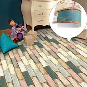 3D Wall Sticker 25Pcs Self Adhesive Bohemia Decal Simulation Ceramic Tiles DIY Kitchen Bathroom