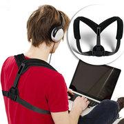 Braçadeiras de jubarte ajustáveis para crianças adultas Sentindo correção de postura Braçadeira de suporte para trás da banda