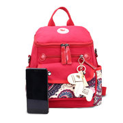 Detachable Canvas Multi-functional Diaper Bags Mommy Backpack Shoulder Bags