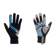 Männer Breathable Full Finger Gloves Outdoor Sports Reiten dicke Pad Handschuhe