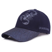 Women Men Wide Brim Embroidered Cotton Baseball Cap Travel Breathable Sunshade Snapback Hat