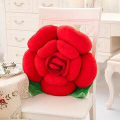 3D fiori variopinti di rosa lanciano il cuscino peluche sofà dell'automobile dell'ufficio cuscino posteriore del biglietto di S. Valentino