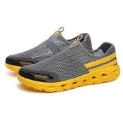Chaussures de plongée multifonctionnelles légères respirantes en tissu en maille pour homme