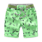 Animal Printed Toddler Boys Kids Casual Beach Sport Shorts For 2Y-11Y