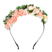 Flower Boho Floral Headband Garland Festival Wedding Bridal Hairband