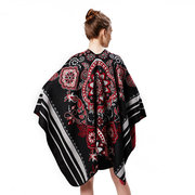 Women Warm Vintage Vogue Print Flower Large Cashmere Scarf Shawl Outdoor Indoor Casual Travel Scarf