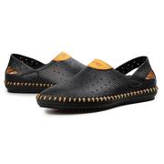 Мужчины с вышивкой Ручная вышивка Breathable Lazy Casual Shoes Мягкие лайнеры