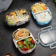 المحمولة تسرب الغذاء الغداء مربع مدرسة مكتب نزهة 304 الفولاذ المقاوم للصدأ بينتو مربع