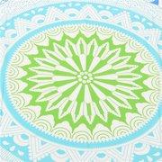 Scaldasalviette tondo mare blu Yoga Decorazioni per appendere la tappezzeria con arazzo