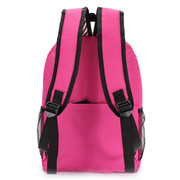Women Canvas Pure Color Anchor Stripe Backpack