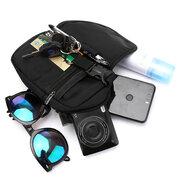 Nylon Sacs à main portables tout-aller Crossbody imperméables multifonctionnels pour hommes
