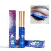 10 cores Flash Delineador Líquido Brilhante Perolado Colorful Delineador Olho Maquiagem
