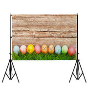 7x5ft Nordic Egg Easter Day Vinyl Backdrop Party Photo Studio Background Props