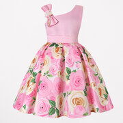 Toddler Christmas Dresses Girls Flower Fancy Dress For 3Y-13Y