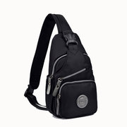 Women Men Nylon Canvas Casual Sport Outdoor Travel Shopping Chest Bags Shoulder Bags