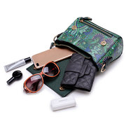 Women Bohemian Forest Series Print Crossbody Bags Large Capacity Handbags