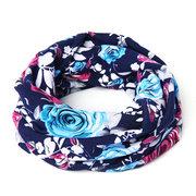 Sciarpa calda multifunzionale del cotone del maglione del cotone del lattice esterno casuale delle donne