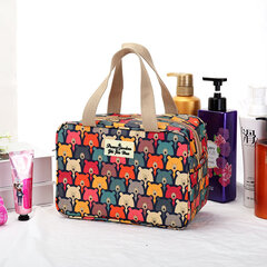 Women Print Nylon Waterproof Travel Bag Swim Wash Storage Bag